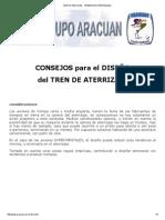 Grupo Aracuan - Trenes de Aterrizajes