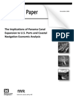 Panama Canal Expansion Impacts to US ports and coastal navigation | December 2008