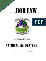 Liberia Labor Law