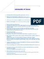 Commands of Jesus