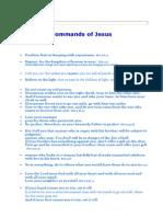 Commands of Jesus