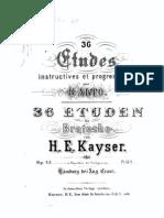 IMSLP106279-PMLP216709-Kayser Studies Op 43 Va