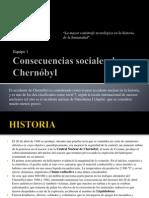 Consecuencias sociales de Chernóbyl