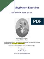 36 Popp Beginner Exercises