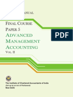 Advanced Management Accounting Vol.-ii (Practice Manual)_g2
