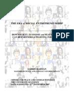 Sabrin Rahman - The Era of Social Entrepreneurship