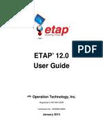 ETAP User Guide