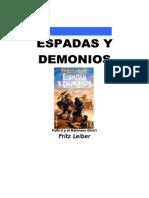 Leiber, Fritz - FR2, Espadas y Demonios