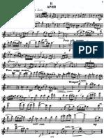 Taktakishvili - Sonata for flute and piano - 2° moviment