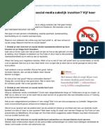 Ingesijpkens.nl-waarom Internet en Social Media Zakelijk Inzetten Vijf Keer Antwoord