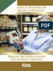 Como Usar La Etiqueta de Informacion Nutricional
