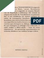 Texto 12 - (30 p.)Cap. 3 - BAREMBLITT (1996) - Cinco Licoes Sobre a Transferencia