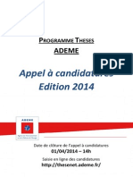 Appelcandidatures Theses 2014 - Vf
