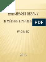Aula Epidemiologia Pesquisa Facimed