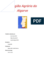 A região agraria do Algarve