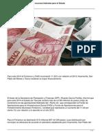 Aumentan Mas de Mil 98 Mdp Recursos Federales Para El Estado