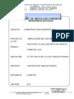 CERT 23- DISEÑO DE MEZCLA-210