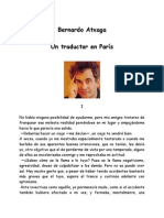 Atxaga, Bernardo - Un Traductor en Paris