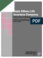 Bajaj Allianz Life Insurance Company.