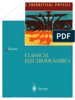 Greiner, Classical Electrodynamics