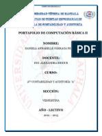 TUTORIAL DE COMPUTACION BÁSICA II