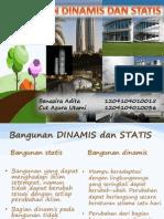 Bangunan Dinamis Dan Statis