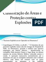 APRESENTAÇÃO -Classificação de Áreas e Proteção contra Explosões - PDF