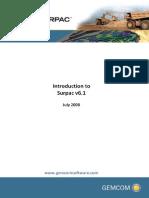 SURPAC 6.14 Introduction