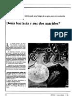 doña bacteria y sus 2 maridos- biologia