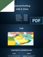 UAE and China