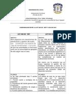 Comparacion Entre La Ley 383 de 1997 y 1454 de 2011
