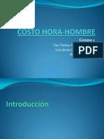 99866086 Costo Hora Hombre