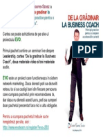 Dezvoltare personala EVOlution + Lorand Soares Szasz