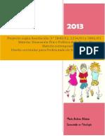 diseño curricular pedagogia critica