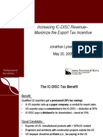 Export Tax IC DISC Revenue