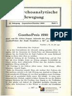 xPsychoanalytische Bewegung Jg2 1930 Heft5 Text