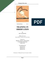 Training Obs