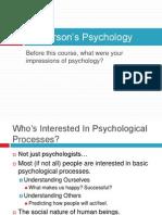 1 Psychology Definition, Field, & Methods(1)