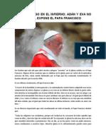 No Hay Fuego en El Infierno - Papa Francisco