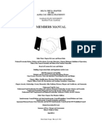 Delta Theta Members Manual