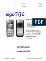 Service manual NOKIA 1600-RH64