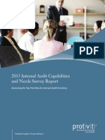 2013 IA Capabilities Needs Survey Protiviti