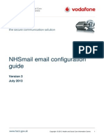 NHSmail Email Configuration Guide July 2013