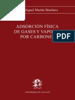 Libro sobre Adsorción sobre carbones