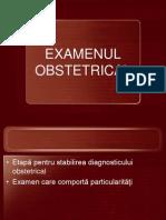Examenul Obstetrical