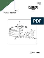 Instrucciones FURLEX-100S-595-103-E-2008-05-02