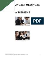 Negocjacje i Mediacje w Biznesie