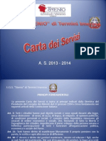 Carta Dei Servizi 2013-14