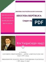 Slide - Segunda Republica