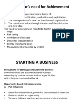 Entrepreneurship - Starting a Business - Copy